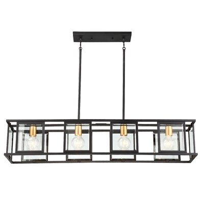 Wegener 4-Light Kitchen Island Pendant