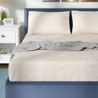 Fullerton 500 Thread Count Cotton Rich Sheet Sets Double Color: White, Size: Queen