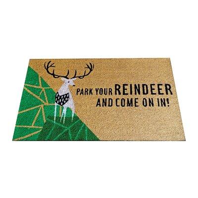 Park Your Reindeer Doormat
