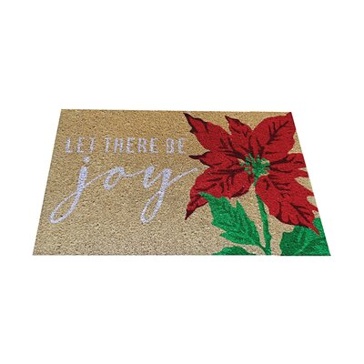 Let There Be Joy Doormat