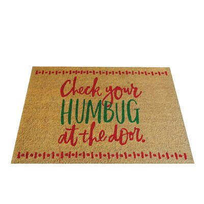 Check Your Humbug Doormat