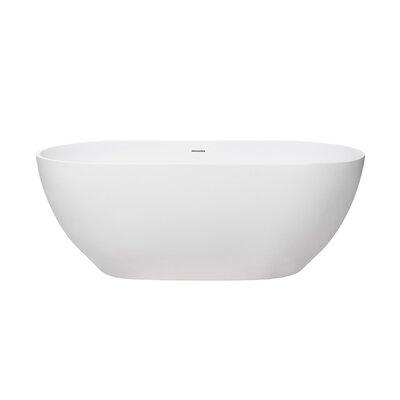 Faro 59 x 30 Freestanding Soaking Bathtub