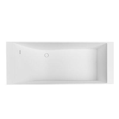 Laredo 71 x 28  Freestanding Soaking Bathtub