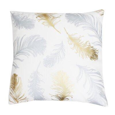 Shanon Throw Pillow Color: Cream