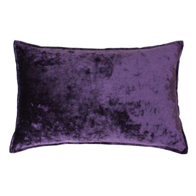 Selig Velvet Lumbar Pillow Color: Vintage Violet