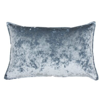 Selig Velvet Lumbar Pillow Color: Blue