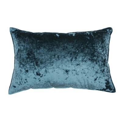 Selig Velvet Lumbar Pillow Color: Pacific Teal