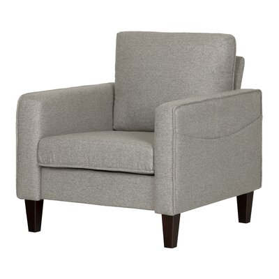 Live-It Cozy Armchair Upholstery: Gray Fog