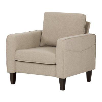 Live-It Cozy Armchair Upholstery: Oatmeal Beige