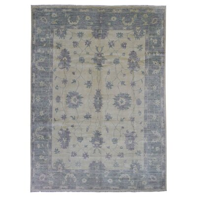 One-of-a-Kind Guidinha Hand-Knotted Wool Beige/Gray Area Rug
