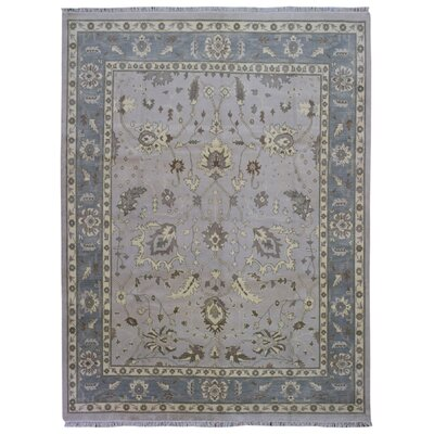 One-of-a-Kind Guidinha Hand-Knotted Wool Gray Area Rug