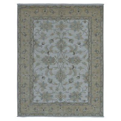 One-of-a-Kind Magdalena Pakistan Peshawar Hand-Knotted Wool Ivory Area Rug