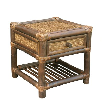 Providencia Bamboo End Table