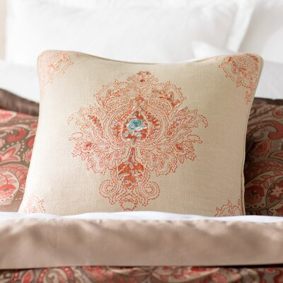Allsop Royal Throw Pillow Color: Spice/Harbor