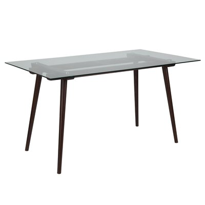 Hefner Dining Table Finish: Espresso
