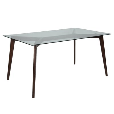 Hegarty Dining Table Finish: Espresso
