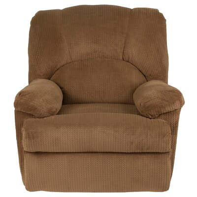 Carel Manual Recline Rocker Recliner Upholstery: Camel