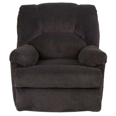 Carel Manual Recline Rocker Recliner Upholstery: Slate