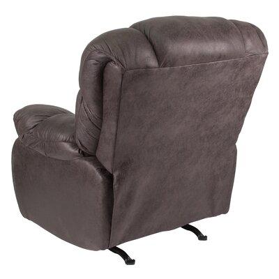 Ragland Manual Rocker Recliner Upholstery: Gray