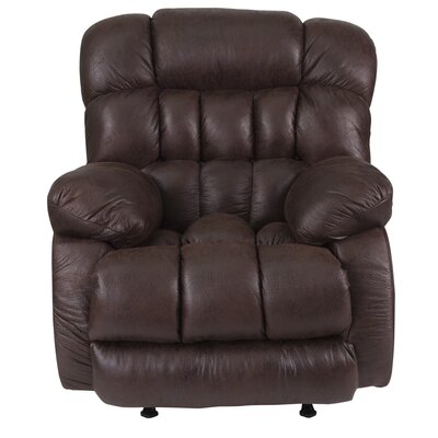 Ragland Manual Rocker Recliner Upholstery: Light Gray
