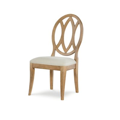 Oval Back Dining Chair (Set of 2) Color: Nutmeg