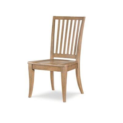 Slat Back Dining Chair (Set of 2) Color: Nutmeg