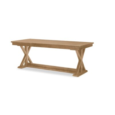 Trestle Dining Table Color: Nutmeg
