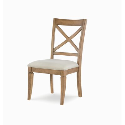 X Back Dining Chair (Set of 2) Color: Nutmeg