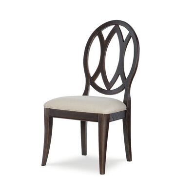 Oval Back Dining Chair (Set of 2) Color: Peppercorn