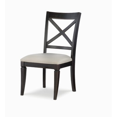 X Back Dining Chair (Set of 2) Color: Peppercorn