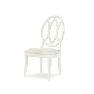 Oval Back Dining Chair (Set of 2) Color: Sea Salt