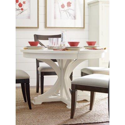 Pedestal Dining Table Color: Sea Salt