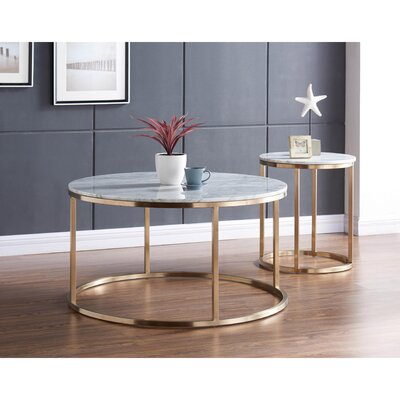 Chinery 2 Piece Coffee Table Set