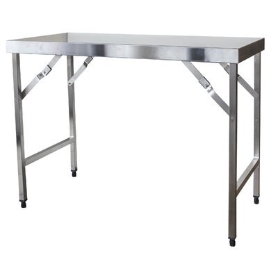 Sportsman Series Portable Folding Stainless Steel Top Workbench 500242