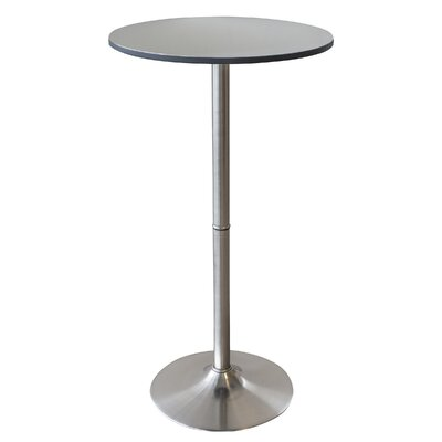 Shelli Stainless Steel Pub Table