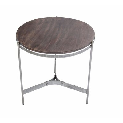 Shannan Round Metal End Table
