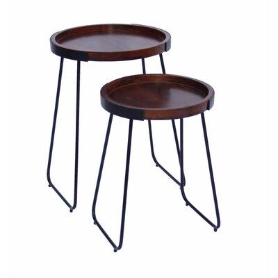 Littleton Stylish 2 Piece Nesting Tables