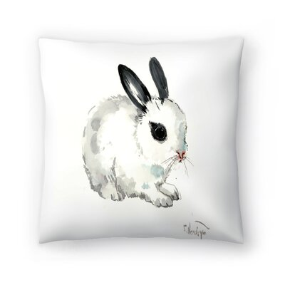 Bunny 6 Throw Pillow Size: 16 x 16