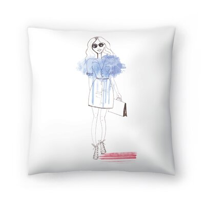 City Chic Throw Pillow Size: 20 x 20