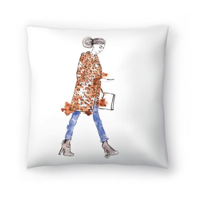 Fall Fur Throw Pillow Size: 18 x 18