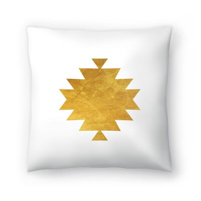 Aztec Tribal Pattern Throw Pillow Size: 14 x 14