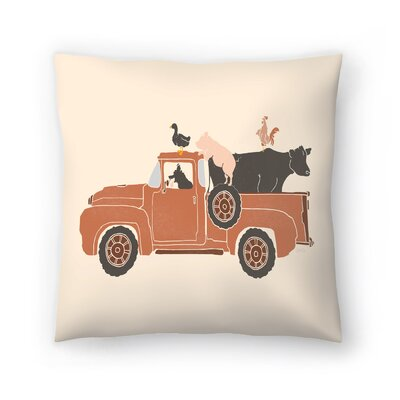 Farm Use Throw Pillow Size: 14 x 14