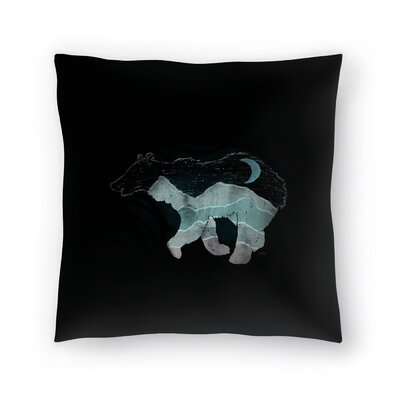 Ursa Major Throw Pillow Size: 14 x 14