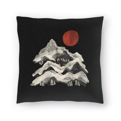 Moon Lake Throw Pillow Size: 16 x 16