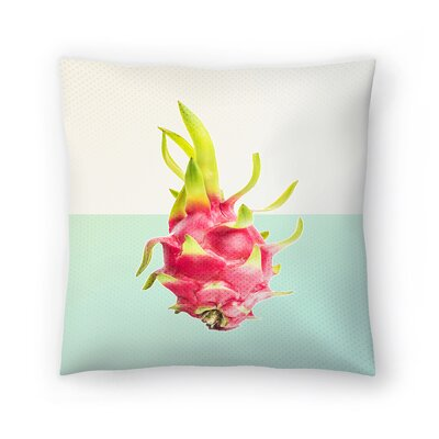 Passion Fruit Throw Pillow Size: 18 x 18