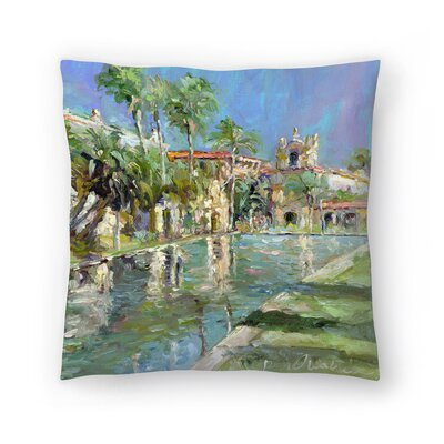 Balbopark Throw Pillow Size: 14 x 14