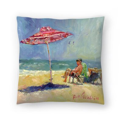 Maderabeach Throw Pillow Size: 16 x 16
