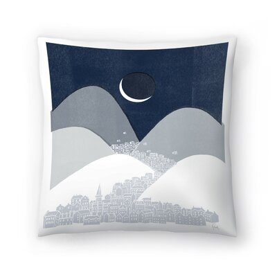 Bleak Midwinter Throw Pillow Size: 18 x 18
