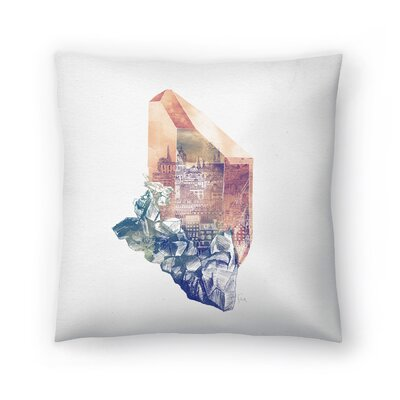 Byzantium Throw Pillow Size: 14 x 14