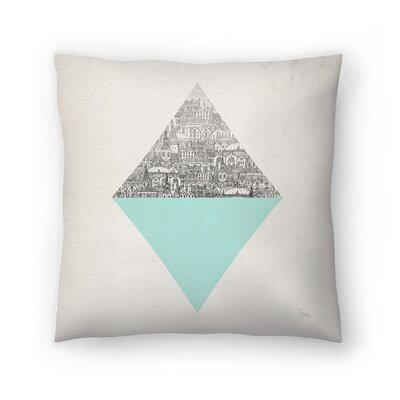 Diamond Throw Pillow Size: 20 x 20